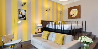 Séjournez dans une chambre au style unique à l'Hôtel Brice Garden 4* et à l'Hôtel Locarno 3*