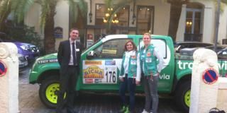 Two crews of the Rallye Aïcha des Gazelles at the hotel !