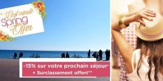 Spring Offer - Prix réduit pour votre séjour à Nice