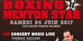 Evènement Menton Juin 2017 I Boxing Menton Star II