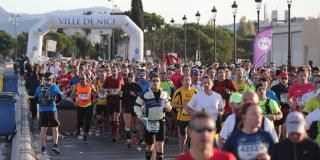 Le marathon Nice-Cannes célèbre sa 10e édition