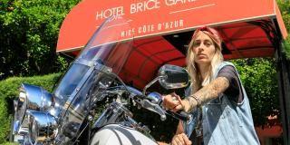 Hôtel motard friendly Nice : Best Western Plus Hôtel Brice Garden Nice