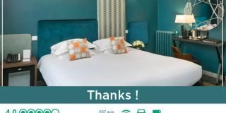 The Hotel Brice Garden Nice climbs in the ranking of online review sites!