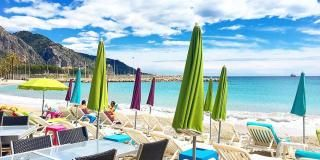 Choose your private beach for the summer in Menton