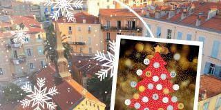 The Advent Calendar of the Hotel Méditerranée Menton