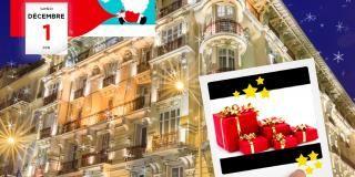Calendrier de l'Avent digital de l'Hôtel Masséna Nice