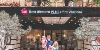 Family holidays at the Best Western Plus Hotel Masséna Nice