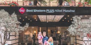 Vacances en famille au Best Western Plus Hôtel Masséna Nice